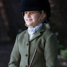 Equetech Junior Claydon Tweed Riding Jacket